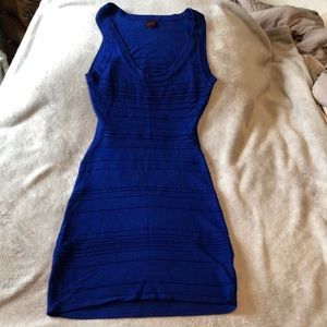 Bebe bodycon cut out dress